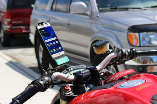 RAM IntelliSkin with GDS Technology for Galaxy S7 in bike