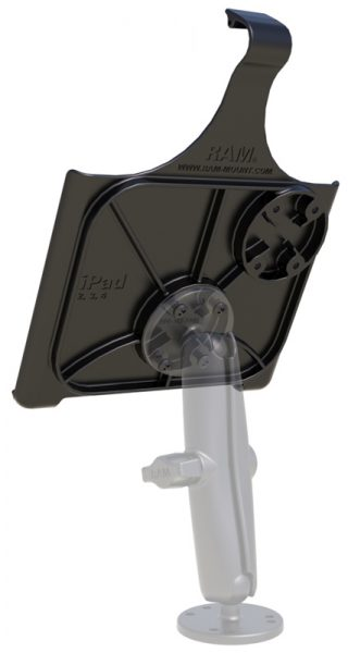Back of RAM EZ-Roll'r Cradle for the iPad 4