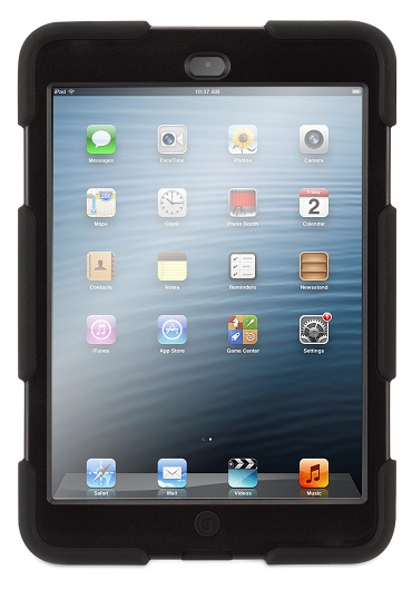 Black - Griffin Survivor for iPad Mini