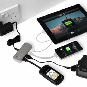 Spidermonkey charging 4 devices from AC