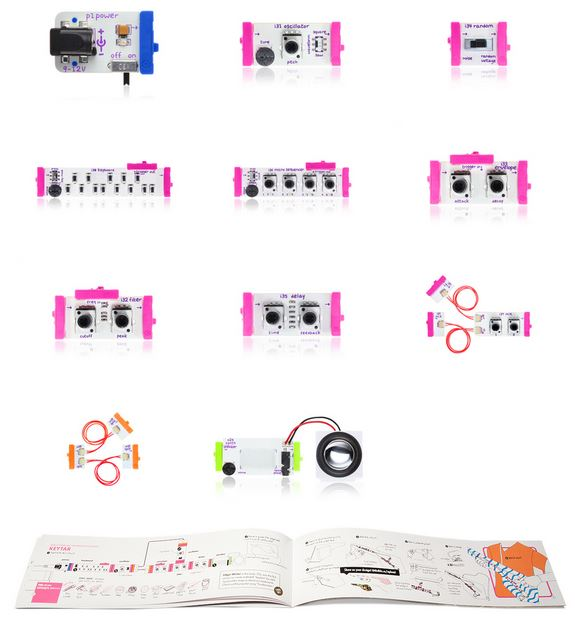 Comes in LittleBits Electronics Synth Kit