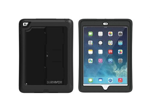 Black - Griffin Survivor Slim for iPad Air 2