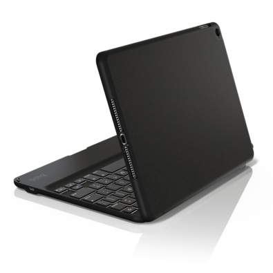 ZaggKeys Folio with Backlit Keyboard for iPad Air back