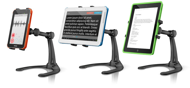 Multiple devices iKlip Xpand Stand for iPad