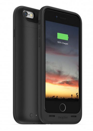 Black Mophie Juice Pack Air for iPhone 6/6S