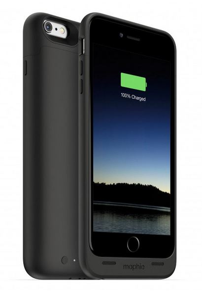 Black Mophie Juice Pack for iPhone 6 Plus