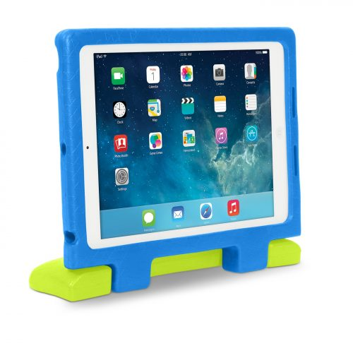 Blue - Kensington SafeGrip Rugged Case for iPad Air