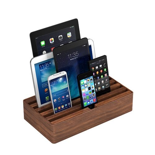 Large Walnut Alldock with devices (devices not included)