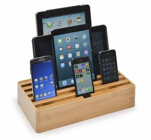 Large Bamboo Alldock with devices (devices not included)