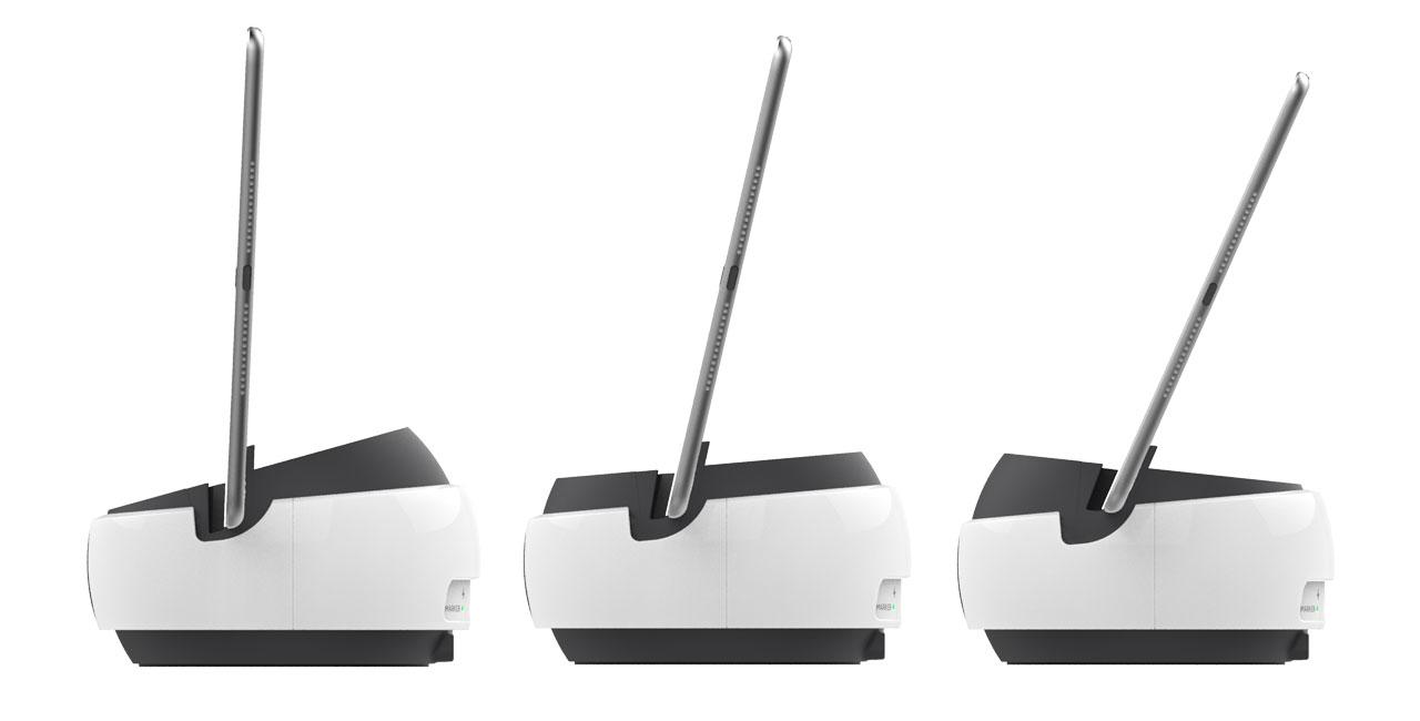 Swivl C Series Robot tilts and rotates