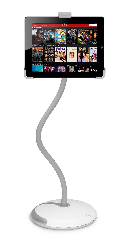 White Goos-e Tablet Holder Stand