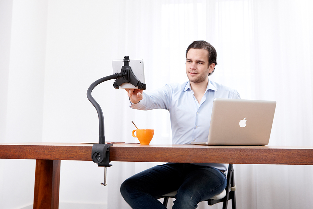 Goos-e Tablet Holder Stand useful for work