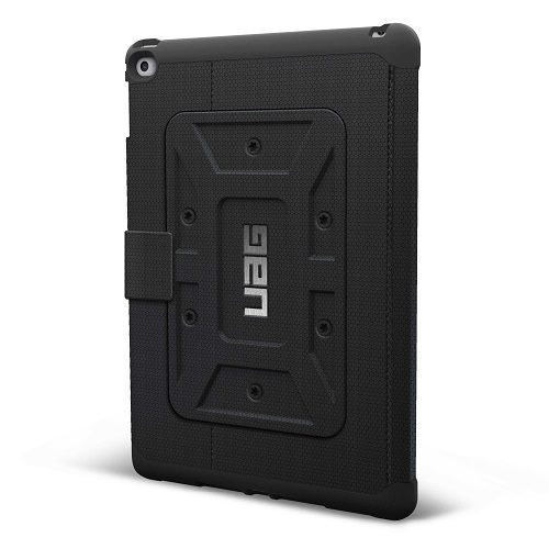 Black back of UAG Case for iPad Air 2