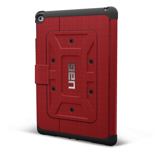 Back of Red UAG Case for iPad Air 2