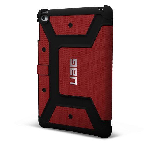 Back Red UAG Folio Case for iPad Mini 4