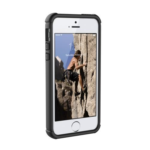 UAG Case for iPhone 5/5S/SE - Ice/Black front