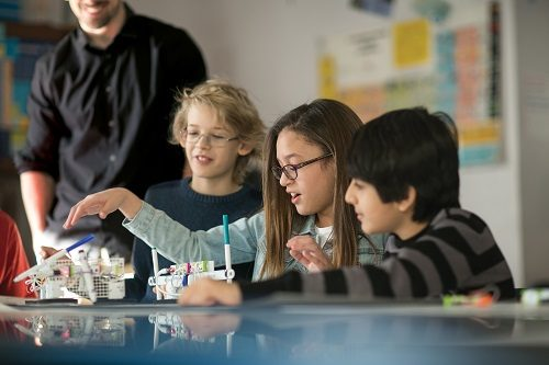 LittleBits STEAM Student Set in use