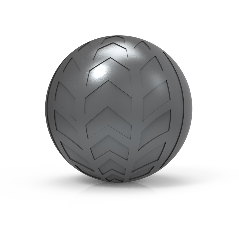 Optional Sphero Turbo Cover - Carbon