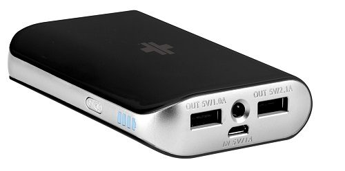 Black Swiss Mobility Power Pack 6000mAh