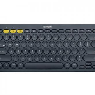 Black Logitech K380 Multi-Device Bluetooth Keyboard
