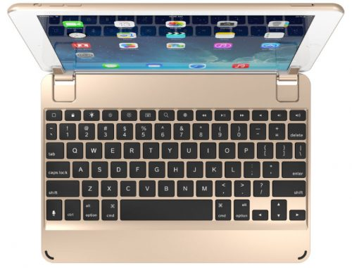 Brydge Keyboard Case for iPad – Gold