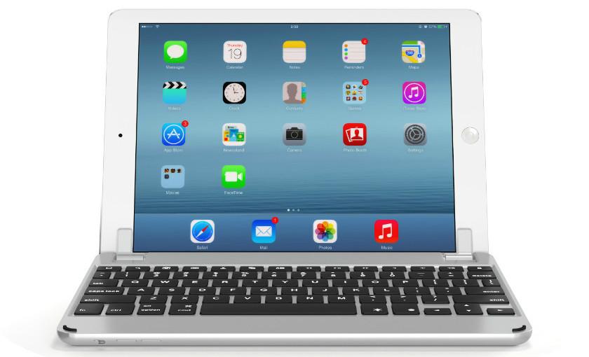 Brydge Keyboard Case for iPad - Silver