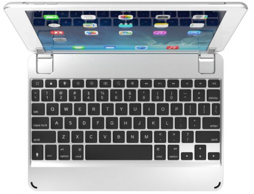 Brydge Keyboard Case for iPad Silver