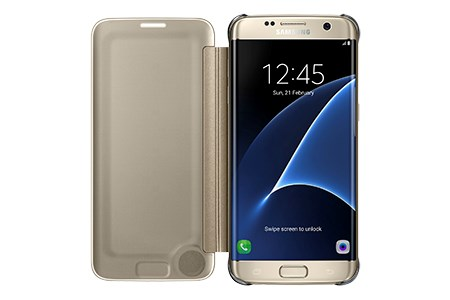 Samsung Clear View Case suits Samsung Galaxy S7 Edge