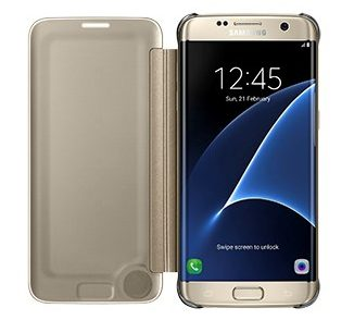 Samsung Clear View Case suits Samsung Galaxy S7