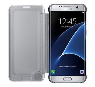 Samsung Clear View Case suits Samsung Galaxy S7 4