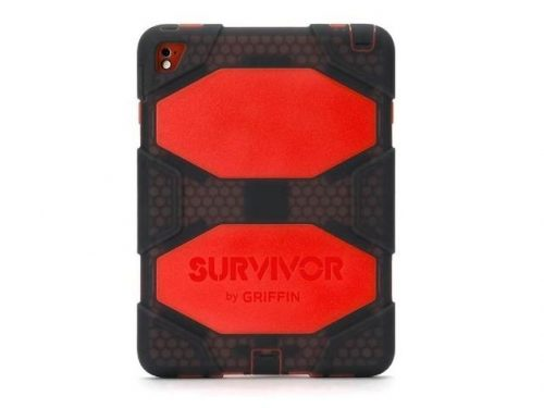 Griffin Survivor All Terrain Tablet - iPad Air 2/Pro 9.7 red