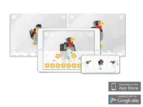 UBTECH JIMU Inventor Robot kit apps
