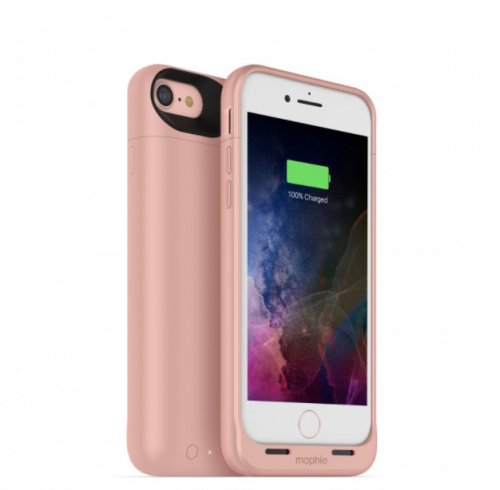 Mophie Juice Pack Wireless and Charging Base iPhone 7 Rose Gold