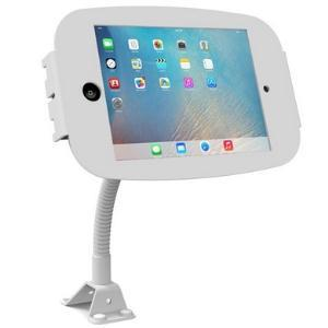 Compulocks Secure Space Enclosure with Flex Arm for iPad Mini white front