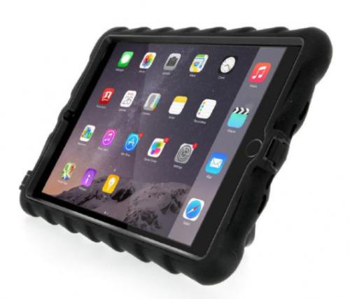 Gumdrop Hideaway Case for iPad Mini 4_black_front