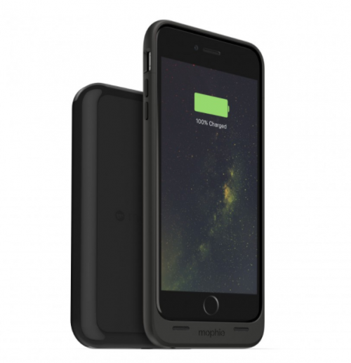 Mophie Juice Pack Wireless and Charging Base iPhone 6S Plus_black