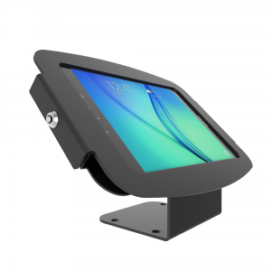 Compulocks Secure Space Enclosure with 45° Kiosk Stand for Galaxy Tab