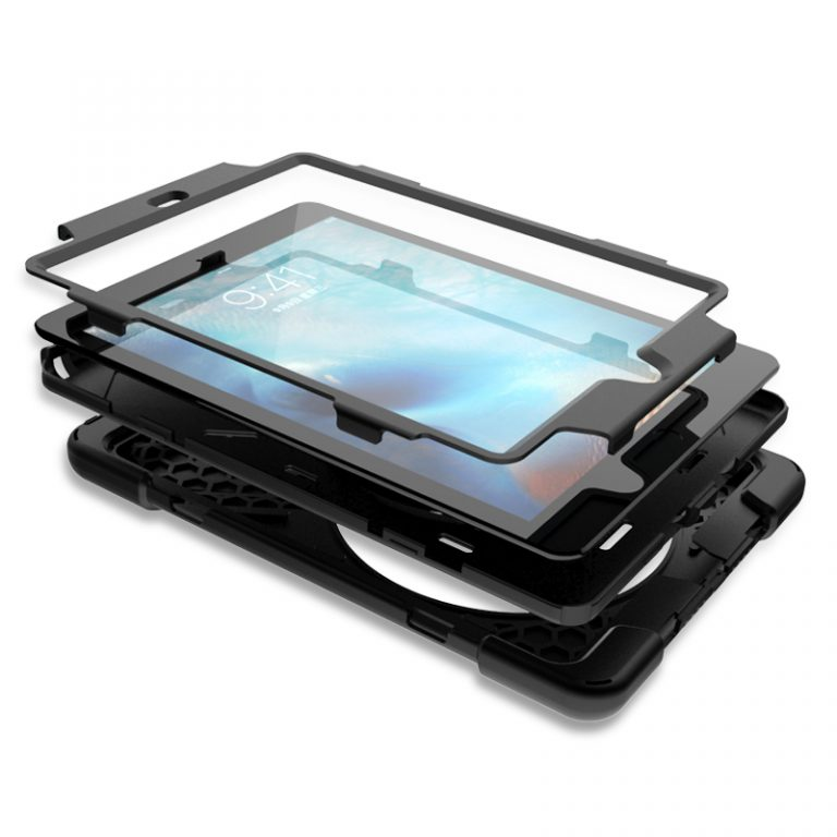 BeBook 360 Grip Hand Strap Case for iPad 9.7 layers
