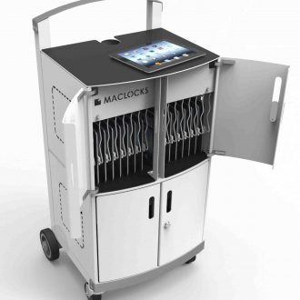 Compulocks CartiPad Duo Modular Charging Cart open