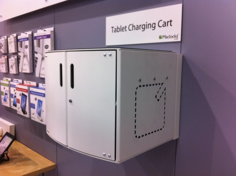 Compulocks CartiPad Solo Modular Charging Cabinet wall mounted