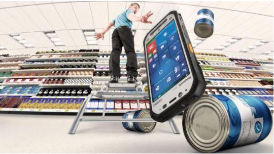 Panasonic Toughpad FZ-F1 Rugged Smartphone and Barcode Reader