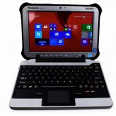 Panasonic iKey Snap-in-Place Fully Rugged Keyboard