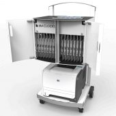 Compulocks CartiPad Uno Modular Charging Cart open