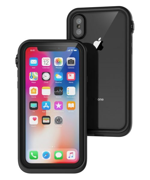 Catalyst Waterproof Case for iPhone X black