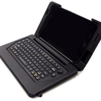 iKey Rugged Tablet Keyboard Case for Samsung Tab Active 2