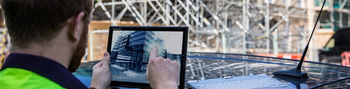 Rugged tablets and mobile technology solutions for building and construction