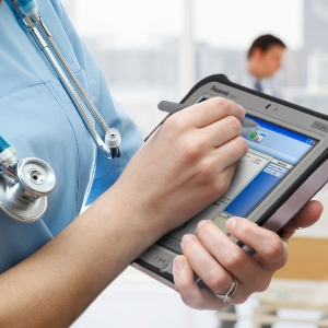Rugged tablets and mobile technology solutions for hospitals, healthcare and aged care