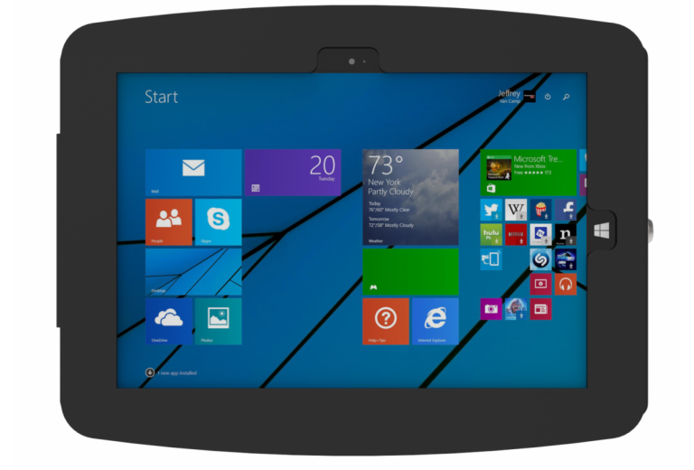 Compulocks Secure Space Enclosure Surface Pro