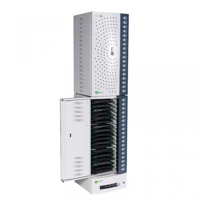 PC Locs Putnam 18-C Base Charging Station are stackable