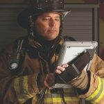 Rugged case for iPad tablet